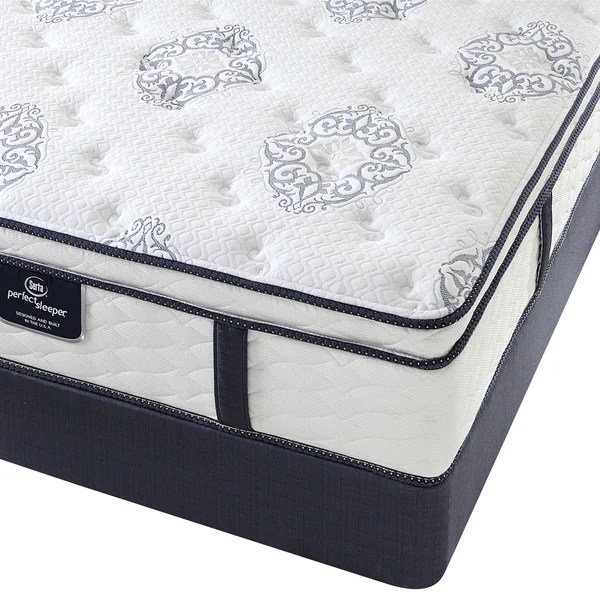 Serta Perfect Sleeper Elite Infuse Euro Top Full Size Mattress Set Free Shipping Today 17296375