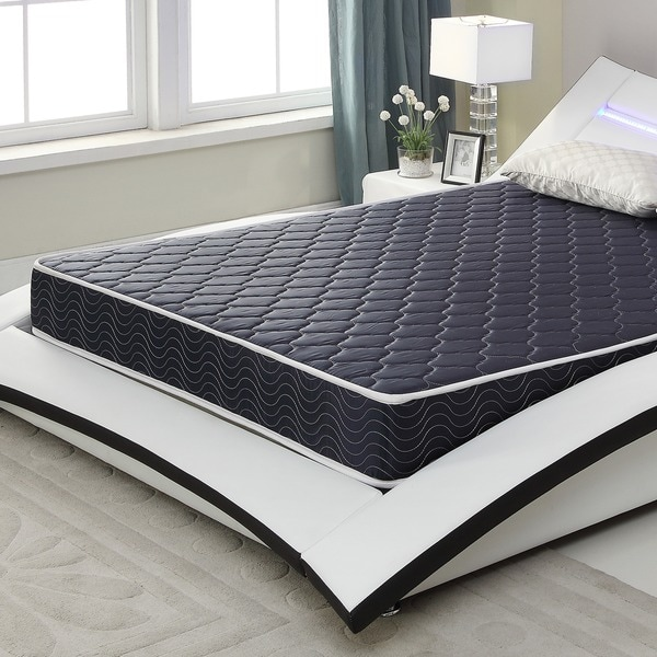 6 Inch Twin Size Foam Mattress With Water Resistant Cover Free Shipping Today 17313223