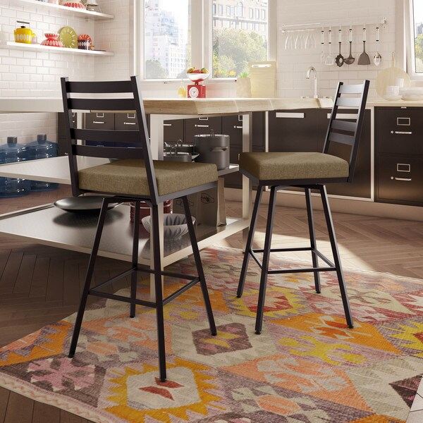 Shop Amisco Stage 26 Inch Swivel Metal Counter Stool Free Shipping Today Overstock 10208818