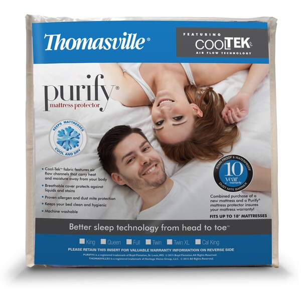 Thomasville Cool Tek Waterproof Mattress Protector