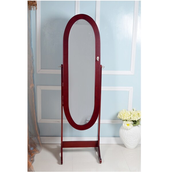 Oval Mirror Jewelry Armoire 28 Images Oval Wall