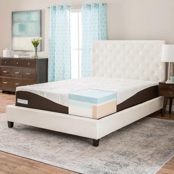 Comforpedic From Beautyrest 12 Inch King Size Gel Memory Foam Mattress