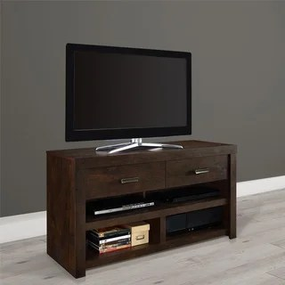 58 Inch Driftwood TV Stand Overstock Shopping Great
