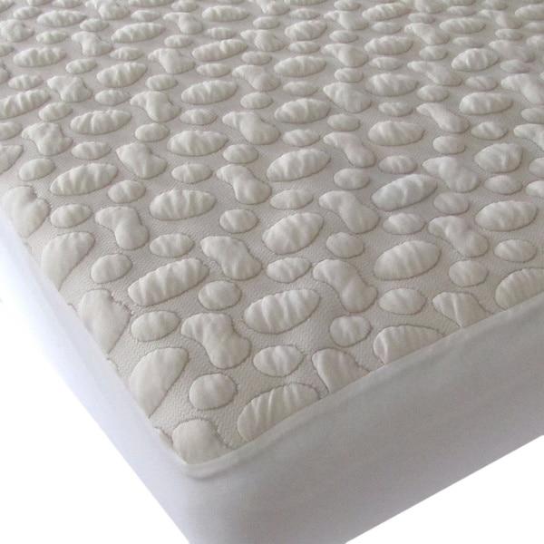 40 Winks Pebble Puff Cotton Mattress Pad