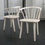 Countryside Rounded Back Spindle Wood Dining Chair Set Of 2 By Christopher Knight Home Overstock 10481480