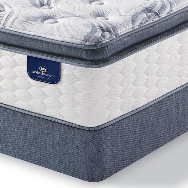 Serta Perfect Sleeper Wayburn Super Pillowtop King Size Mattress Set Free Shipping Today 17600986