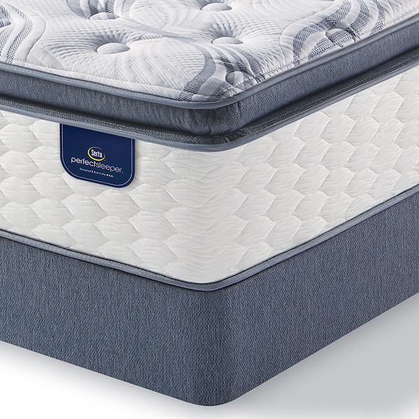 Serta Perfect Sleeper Wayburn Super Pillow Top Queen Size Mattress Set Free Shipping Today 17601131