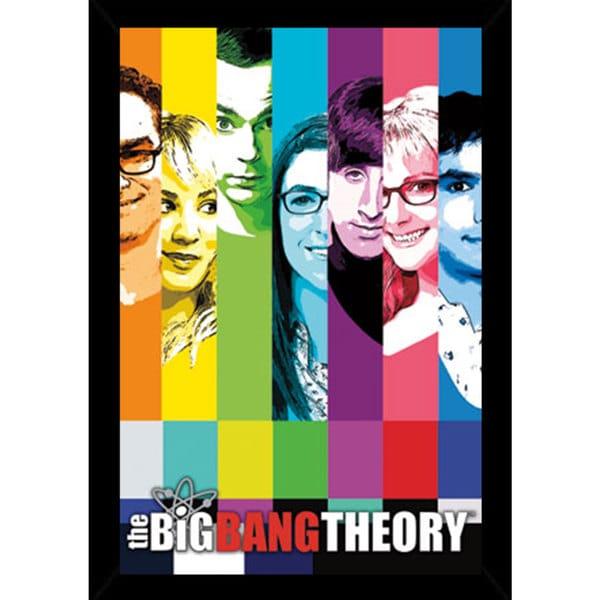 the big bang theory signal framed poster