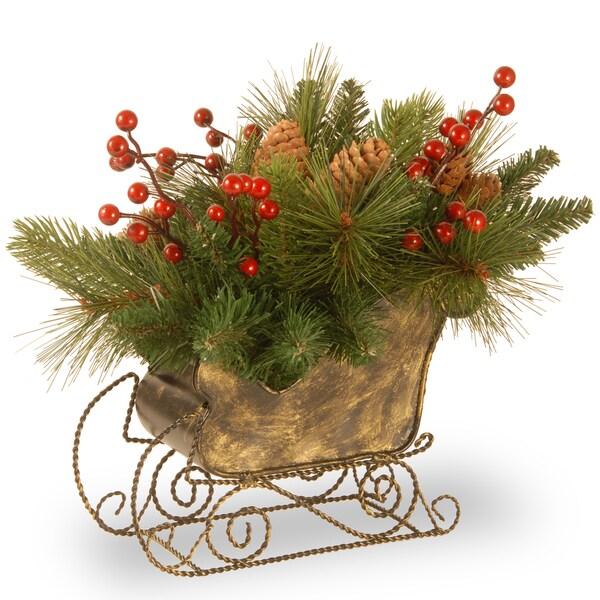 10 Decorative Collection Long Needle Pine Cone Sleigh 17699562 Shopping