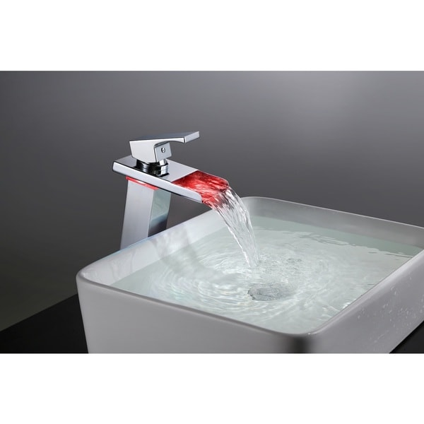 sumerain thermal led single-hole stainless steel waterfall