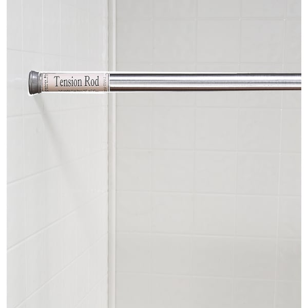 standard size shower curtain tension