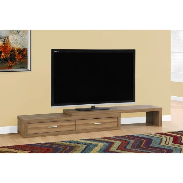 TV Stand 60 98 Inches ExpandableWalnut 17941582