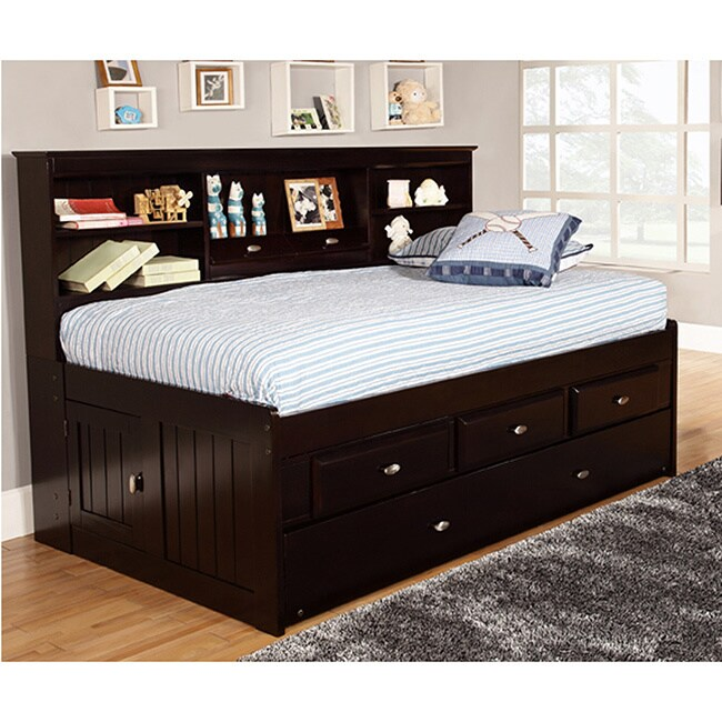 twin 3 drawer daybed and twin trundle
