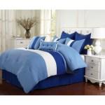 Miranda Haus Florence Sky Blue 8 Piece Comforter Set Overstock 10991955 King