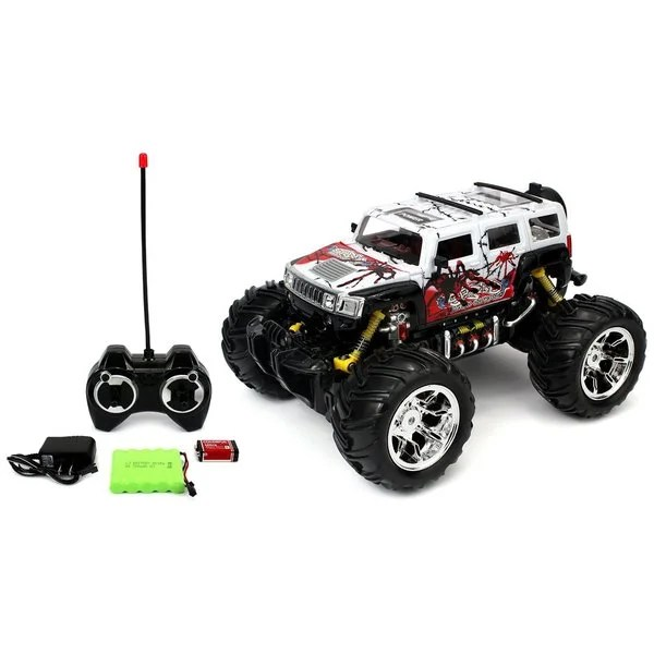 Shop Velocity Toys Graffiti H2 Suv Remote Control Rc Truck 1 16 Scale Big Size Off Road Monster Truck Colors May Vary Overstock 11383555