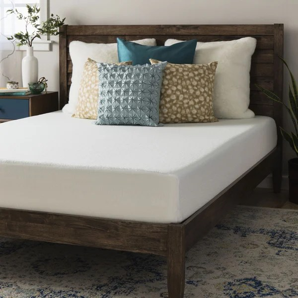 Crown Comfort 8 Inch Full Size Memory Foam Mattress Free Shipping Today 18539721