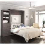 Shop Black Friday Deals On Pur By Bestar 90 Inch Queen Size Wall Bed Kit On Sale Overstock 11607897