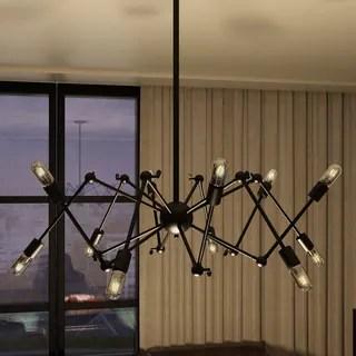 Vonn Lighting Dorado 39 Inches Hanging Multi Pivoting Arm Chandelier With
