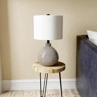 StyleCraft Turquoise Ceramic Accent Table Lamp - Free ...