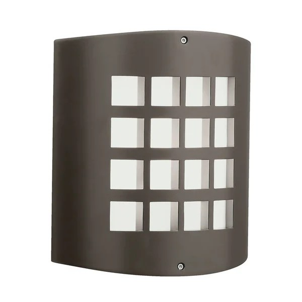 Shop Kichler Lighting Contemporary 1-light Architectural ... on Contemporary Outdoor Wall Sconces id=13255