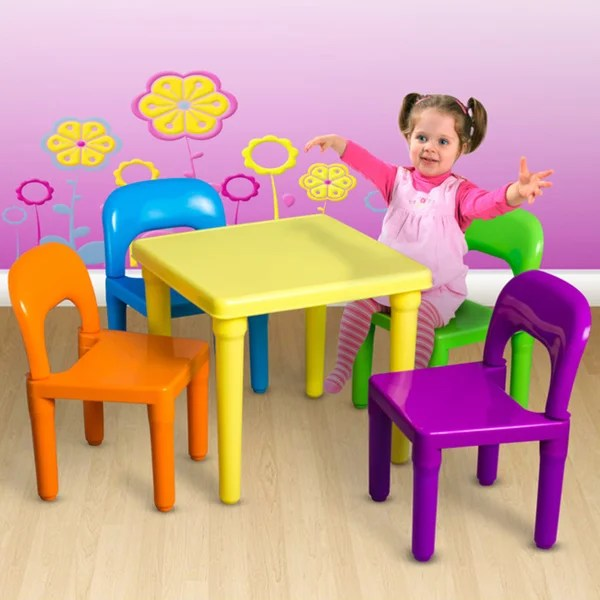 Childrens Table And Chairs Set 18613066