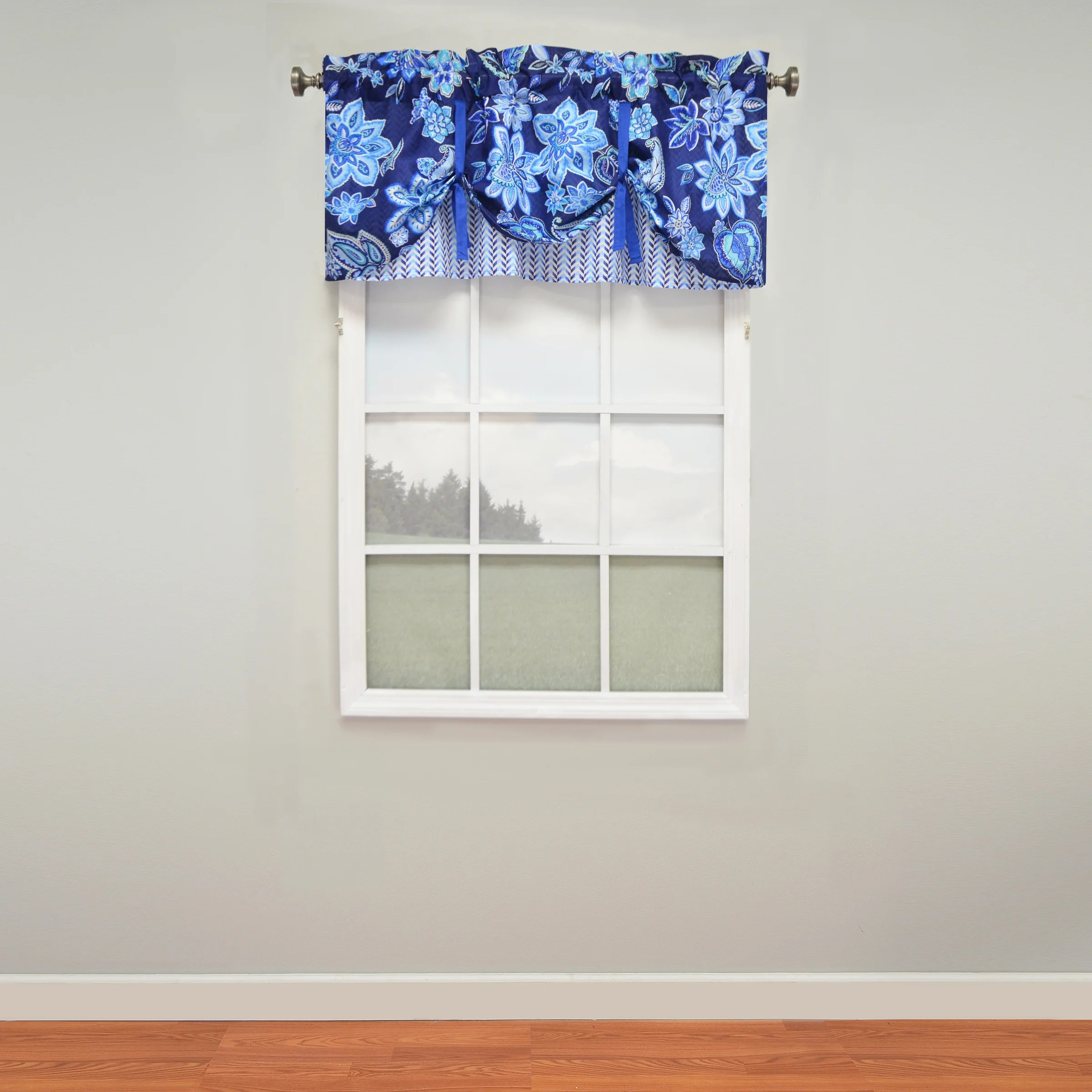 Shop Waverly Charismatic Layered Tie Up Window Valance Overstock 11703870