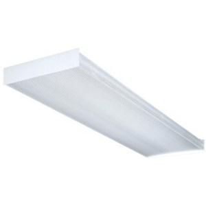 Lithonia Lighting SB232120GESB 4  White Fluorescent Wrap Around     Lithonia Lighting SB4321201 4GESB 4  Wt 4 Bulb T8 Fluorescent Wraparound  Ceiling Light Fixture