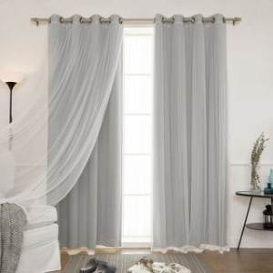 Buy Curtains   Drapes Online at Overstock com   Our Best Window     Aurora Home Mix and Match Blackout Blackout Curtains Panel Set  4 piece