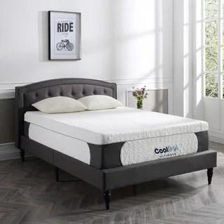 Postureloft Milan 14 Inch Queen Size Cool Gel Memory Foam Mattress With 2 Pillows