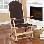 Aspen Natural Brown Wood Folding Rocking Chair On Sale Overstock 11867054