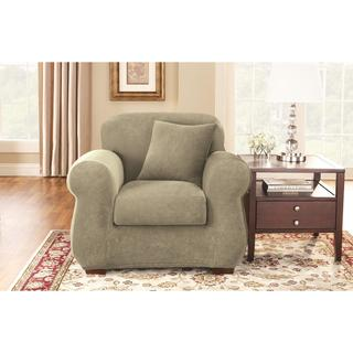 Sure Fit Stretch Pearson Wingback Chair Slipcover 11214121 Shopping Big
