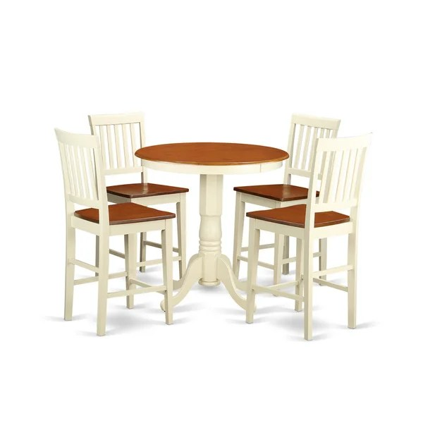 White Pub Table Sets