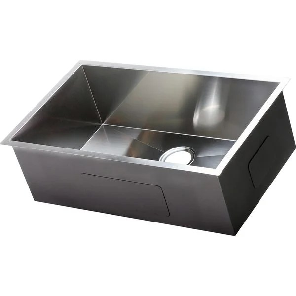 shop hardy stainless steel single bowl undermount on farmhouse sink lowest price id=28457