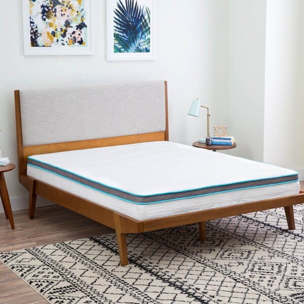 8 Inch Twin Size Memory Foam And Hybrid Innerspring Mattress Free Shipping Today 19140441