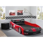 Delta Children S Red Turbo Race Car Twin Bed Overstock 12369073