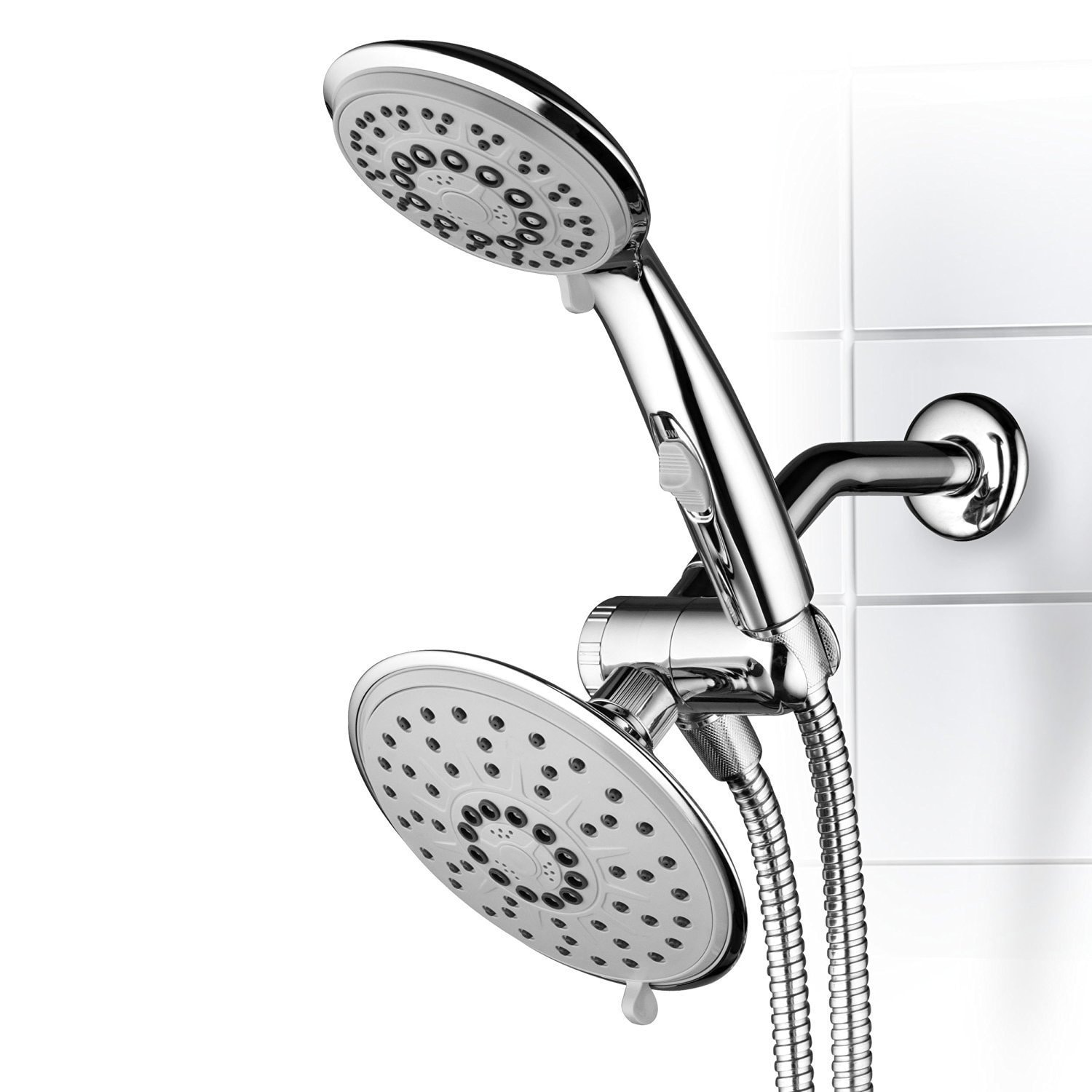 Hydroluxe 30 Setting 3 Way Rainfall Shower Head And Handheld Shower Combo