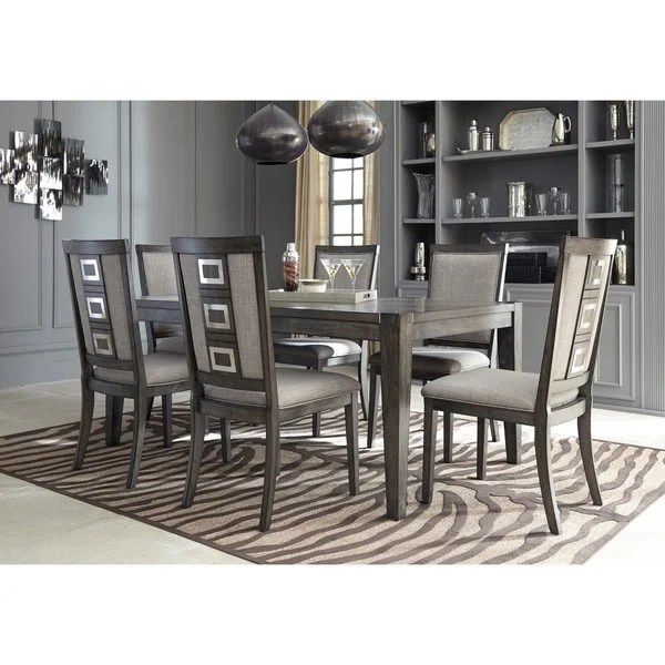 Shop Signature Design By Ashley Chadoni Gray Dining Room