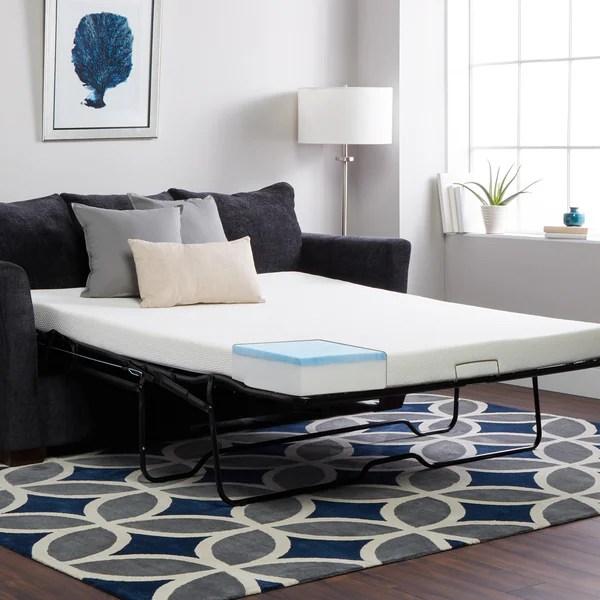 select luxury full size sleeper sofa replacement gel memory foam mattress mattress only