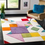 Safavieh Hollywood Caitlynn Mid Century Modern Abstract Rug