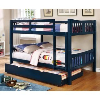 Furniture Of America Pello Full Over Slatted Bunk Bed