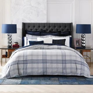 Tommy Hilfiger Cotton Range Plaid 3 Piece Comforter Set