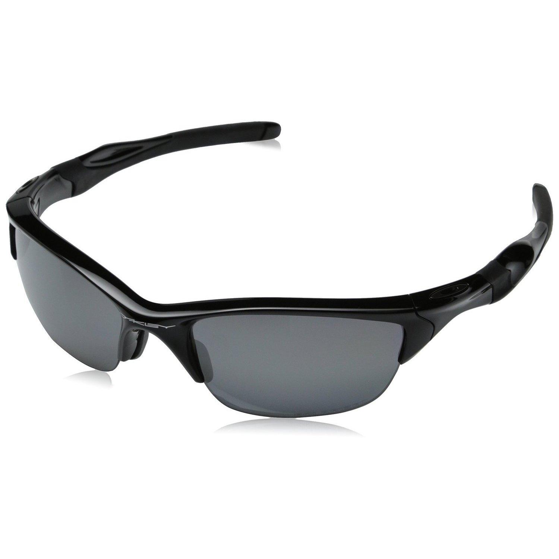 Oakley Half Jacket Fire Iridium Polarized Lenses