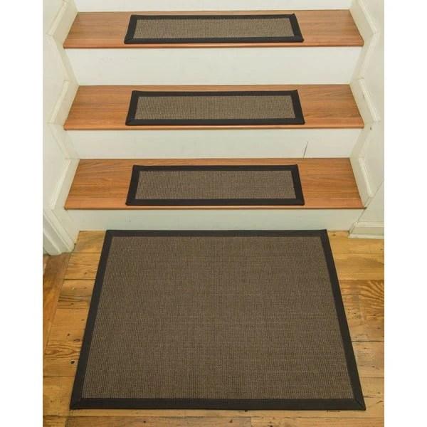 Shop Handcrafted Big Sur Sisal Carpet Stair Treads With Landing | Sisal Carpet Stair Treads | Area Rugs | Fiber Sisal | Natural Fiber | Etsy | Oak Valley
