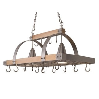shop calphalon hanging pot rack online overstock
