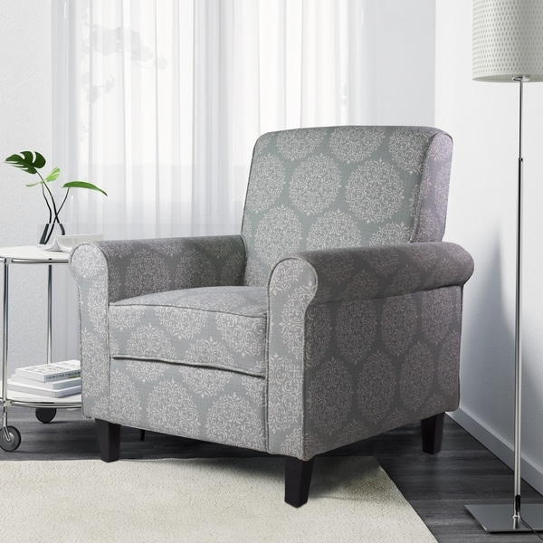 Patterned Accent Arms Chairs
