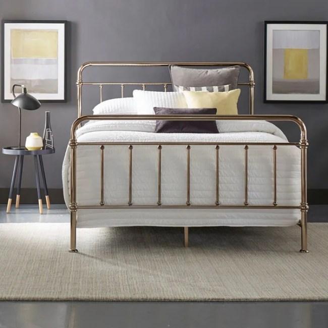 Image result for gold bedframe