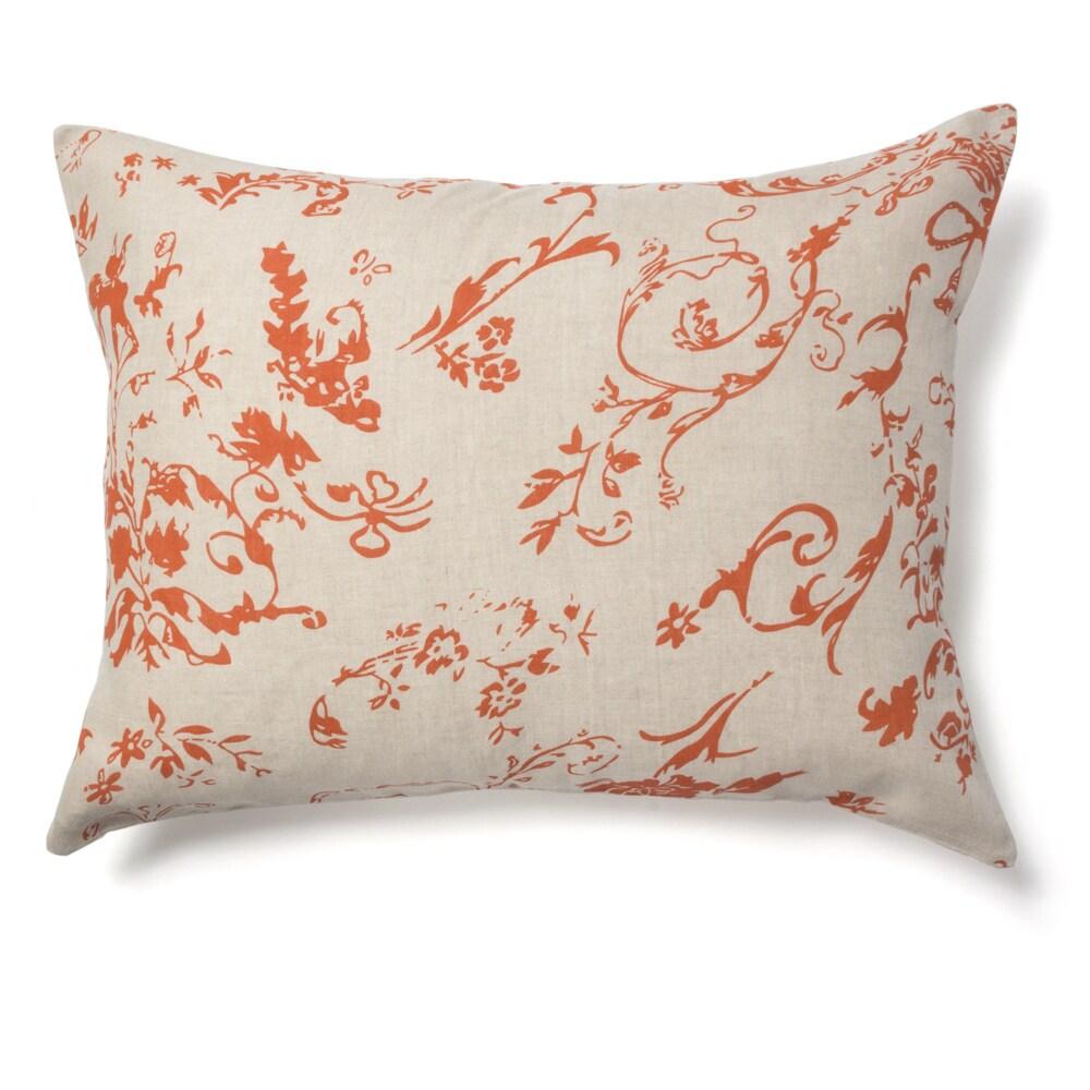 buy orange pillow shams online at