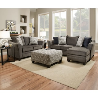 Judson sofa chaise for Albany saturn sectional sofa chaise