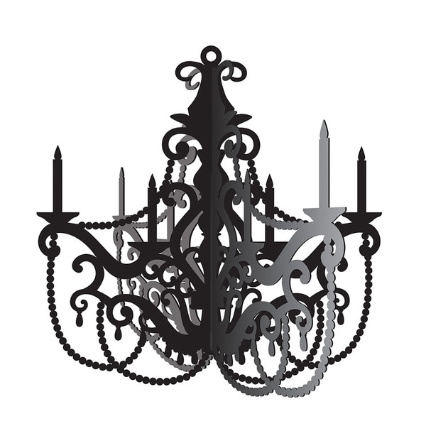 Party In Paris Hanging Paper Chandelier Case Of 12
