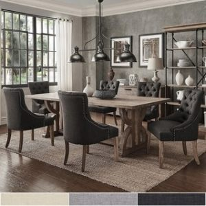 Buy Kitchen   Dining Room Sets Online at Overstock com   Our Best     Paloma Salvaged Reclaimed Pine Wood 7 Piece Rectangle Dining Set by iNSPIRE  Q Artisan